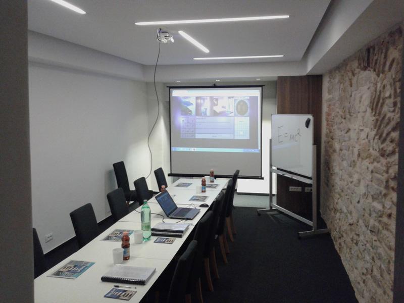Conference room in hotel Slavija