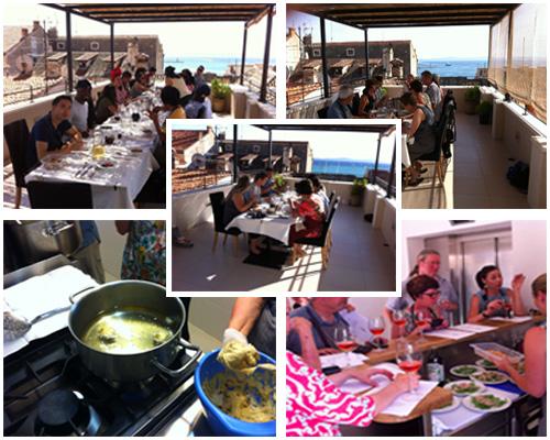 Cooking class in hotel Slavija